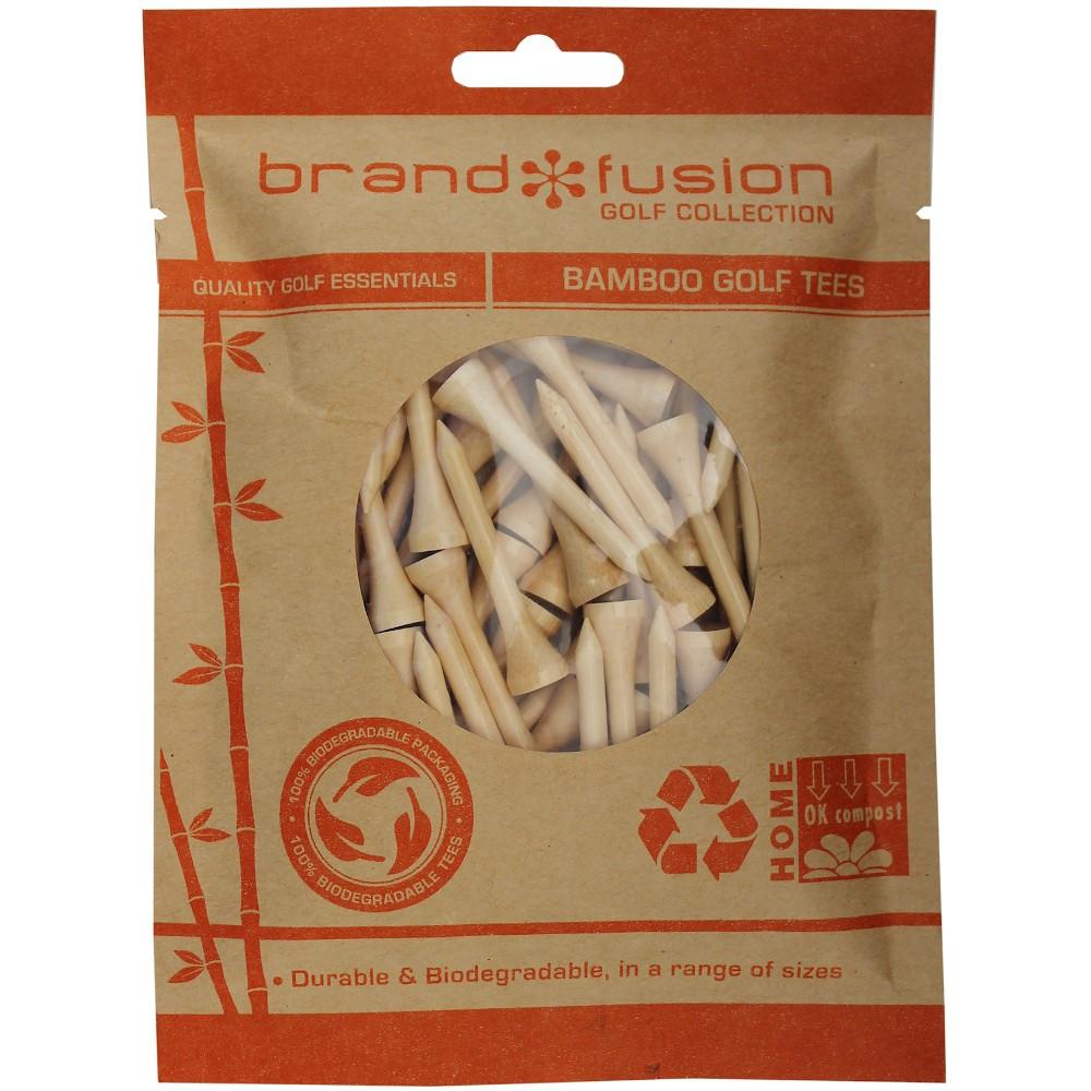 Biodegradable BAMBOO Golf Tees