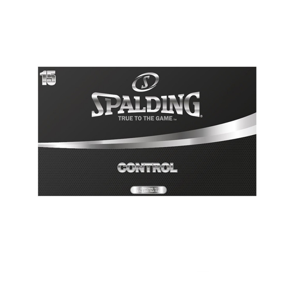 Spalding Control Golf Balls (15pack)